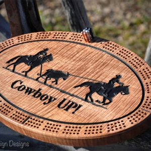 team roping crib board resized