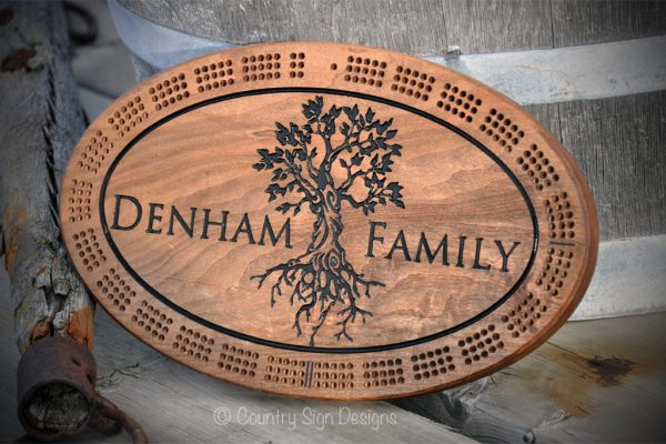 tree of life cribbage board
