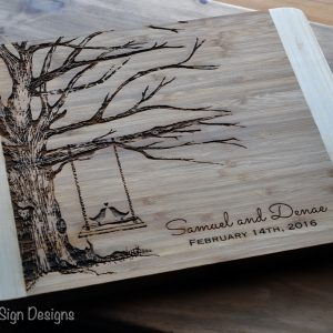 cutting board tree swing