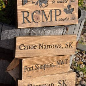 home is where the rcmp sends us