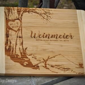 fishing-love-cutting-board